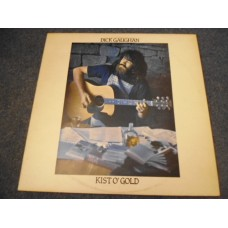 DICK GAUGHAN - KIST O'GOLD LP - Nr MINT UK FOLK