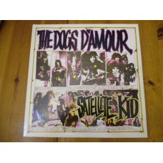 """THE DOGS D'AMOUR - SATELLITE KID 12"""" - Nr MINT UK ROCK GLAM"""