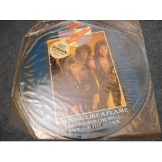 "DOKKEN - BURNING LIKE A FLAME Picture Disc 12"" - Nr MINT UK HEAVY METAL"