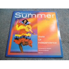 "DONNA SUMMER - STATE OF INDEPENDENCE 12"" - Nr MINT A1/B1 UK  DANCE POP"