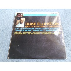 DUKE ELLINGTON meets COLEMAN HAWKINS LP - Nr MINT UK 1963  JAZZ