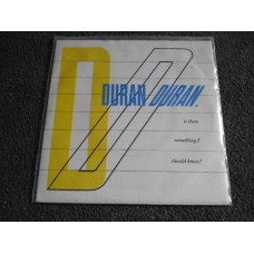 "DURAN DURAN - IS THERE SOMETHING I SHOULD KNOW? 7"" - Nr MINT 1983"