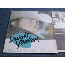 DWIGHT YOAKAM - GUITARS CADILLACS ETC ETC LP - Nr MINT COUNTRY