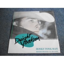 "DWIGHT YOAKAM - HONKY TONK MAN 12"" - Nr MINT A2/B1 UK COUNTRY"