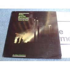 """ECHO AND THE BUNNYMEN - SHINE SO HARD 12"""" EP - Nr MINT A1/B1 UK INDIE"""