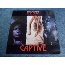 THE EDGE with MICHAEL BROOK - CAPTIVE LP - Nr MINT A1/B1 UK U2 SINEAD O'CONNOR