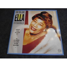 ELLA FITZGERALD - FOR THE LOVE OF ELLA 2LP - Nr MINT JAZZ