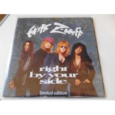 "ENUFF Z'NUFF - RIGHT BY YOUR SIDE Poster 7"" - Nr MINT  ROCK  HEAVY METAL"