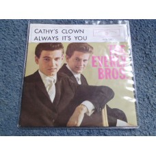 "THE EVERLY BROTHERS - CATHY'S CLOWN 7"" - Nr MINT"