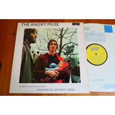 EWAN MacCOLL AND PEGGY SEEGER - THE ANGRY MUSE LP - Nr MINT UK  FOLK