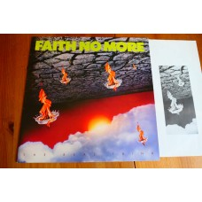 FAITH NO MORE - THE REAL THING LP - Nr MINT UK  METAL PUNK