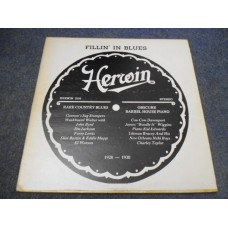VARIOUS - FILLIN' IN BLUES LP - EXC+ RARE COUNTRY BLUES 1928-1930