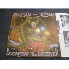 FLOTSAM AND JETSAM - DOOMSDAY FOR THE DECEIVER LP - Nr MINT  THRASH METAL