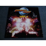 ACE FREHLEY - FREHLEY'S COMET - LIVE + 1 Signed LP - Nr MINT KISS