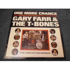 GARY FARR AND THE T-BONES - ONE MORE CHANCE LP - Nr MINT A1/B1 UK 1960s BLUES