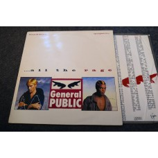 GENERAL PUBLIC - ALL THE RAGE LP - Nr MINT A3/B3 UK  THE BEAT