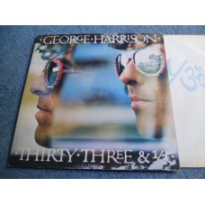 GEORGE HARRISON - THIRTY THREE & 1/3 LP - Nr MINT/EXC+ UK  BEATLES