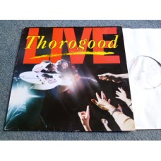 GEORGE THOROGOOD & THE DESTROYERS - LIVE LP - EXC+ A1/B1 UK BLUES