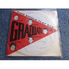 "GRADUATE - ELVIS SHOULD PLAY SKA 7"" - Nr MINT/EXC+ UK TEARS FOR FEARS"
