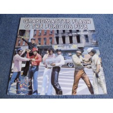 GRANDMASTER FLASH AND THE FURIOUS FIVE - THE MESSAGE LP - Nr MINT UK  RAP