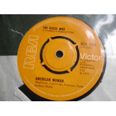 """THE GUESS WHO - AMERICAN WOMAN 7"""" - EXC+ UK 1970"""