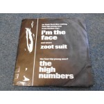 """THE HIGH NUMBERS - I'M THE FACE / ZOOT SUIT 7"""" - Nr MINT THE WHO"""