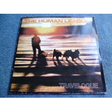 THE HUMAN LEAGUE - TRAVELOGUE LP - EXC+ A1/B1  INDIE ELECTRONICA