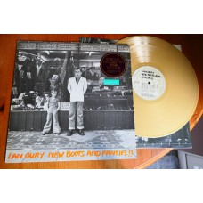 IAN DURY - NEW BOOTS AND PANTIES Gold Vinyl LP - Nr MINT UK  PUNK INDIE