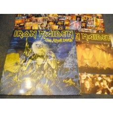 IRON MAIDEN - LIVE AFTER DEATH 2LP - EXC+ UK HEAVY METAL