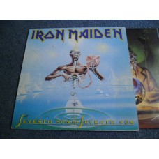 IRON MAIDEN - SEVENTH SON OF A SEVENTH SON LP - EXC+ A3 UK