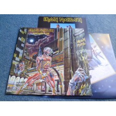 IRON MAIDEN - SOMEWHERE IN TIME LP - Nr MINT A1/B2 UK