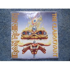 "IRON MAIDEN - THE CLAIRVOYANT Clear Vinyl 7"" + POSTER SLEEVE - Nr MINT UK  HEAVY METAL"