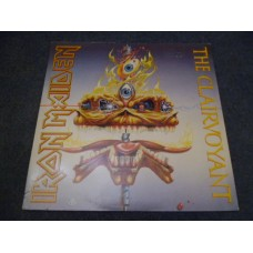 "IRON MAIDEN - THE CLAIRVOYANT 12"" - Nr MINT A1/B1 UK  HEAVY METAL"
