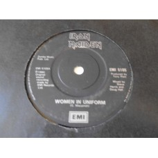 "IRON MAIDEN - WOMEN IN UNIFORM 7"" - Nr MINT UK HEAVY METAL"