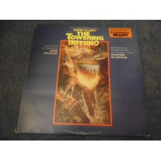 JOHN WILLIAMS - THE TOWERING INFERNO Soundtrack LP - Nr MINT A1/B1 UK