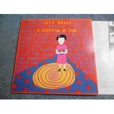 JACK BRUCE - A QUESTION OF TIME LP - Nr MINT 1989   CREAM