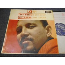 THE JACK WILSON QUARTET FEATURING ROY AYERS LP - Nr MINT UK FUNK JAZZ FUSION