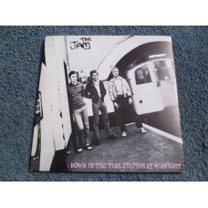 """THE JAM - DOWN IN THE TUBE STATION AT MIDNIGHT 7"""" - Nr MINT UK  PUNK MOD PAUL WELLER"""