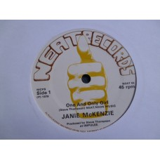 "JANIE McKENZIE - ONE AND ONLY GIRL 7"" - Nr MINT UK 1979"