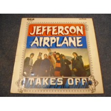 JEFFERSON AIRPLANE - TAKES OFF LP - Nr MINT UK  ROCK PSYCH