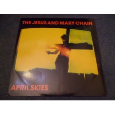 "THE JESUS AND MARY CHAIN - APRIL SKIES 12"" - Nr MINT/EXC+ A1 UK  PUNK INDIE"