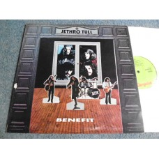 JETHRO TULL - BENEFIT LP - Nr MINT UK A2/B2 ORIG  PROG