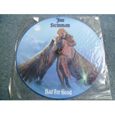 JIM STEINMAN - BAD FOR GOOD Picture Disc LP - Nr MINT A2/B1 UK MEAT LOAF