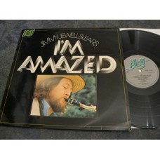 JIMMY JEWELL AND EARS - I'M AMAZED LP - Nr MINT A1/B1 UK  ROCK JAZZ FUSION