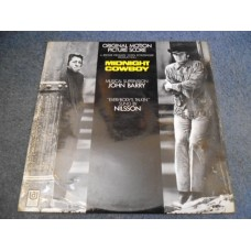 JOHN BARRY - MIDNIGHT COWBOY Soundtrack LP - Nr MINT A2/B2 UK  NILSSON