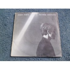 "JOHN FOXX - NO-ONE DRIVING 7"" Double Pack - EXC+ ELECTRONICA ULTRAVOX"