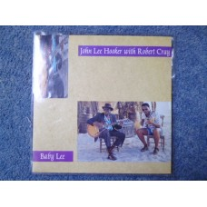 "JOHN LEE HOOKER with ROBERT CRAY - BABY LEE 7"" - Nr MINT  BLUES ROCK"