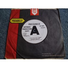 "THE JOHN SCHROEDER ORCHESTRA - YOU'VE LOST THAT LOVIN' FEELIN' Promo 7"" - VG UK PICCADILLY"
