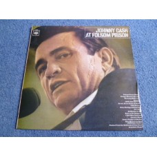 JOHNNY CASH - AT FOLSOM PRISON LP - Nr MINT A1/B2 UK STEREO  COUNTRY