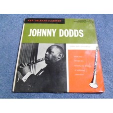 JOHNNY DODDS - NEW ORLEANS CLARINET LP - Nr MINT- UK  JAZZ